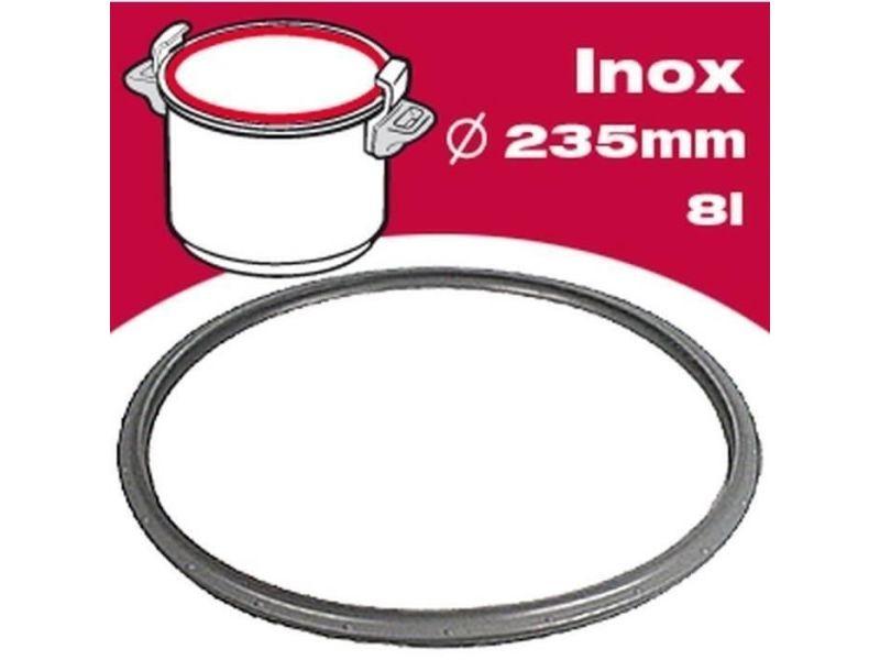 Accessoires pour autocuiseurs joint autocuiseur inox 791947 8l ø23,5cm gris