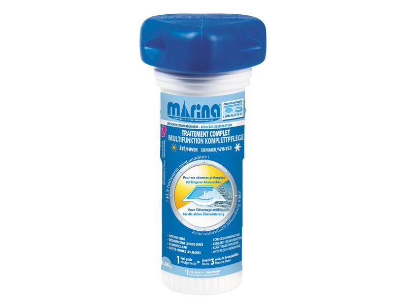 Traitement au chlore longue durée 1 à 3 mois pour 30 à 60 m³ - marina