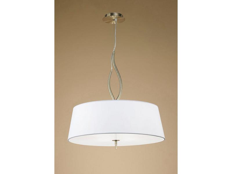Ampoules Ninette Avec 4 E27Laiton Jours Antique Suspension Abat UzpMSV