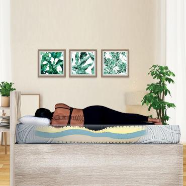 matelas poseidon 140x200 m moire de forme 21 cm vente de olympe literie conforama. Black Bedroom Furniture Sets. Home Design Ideas