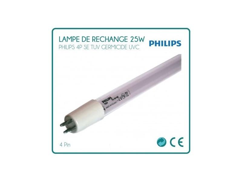Ampoule de rechange 25w philips pour stérilisateur uv
