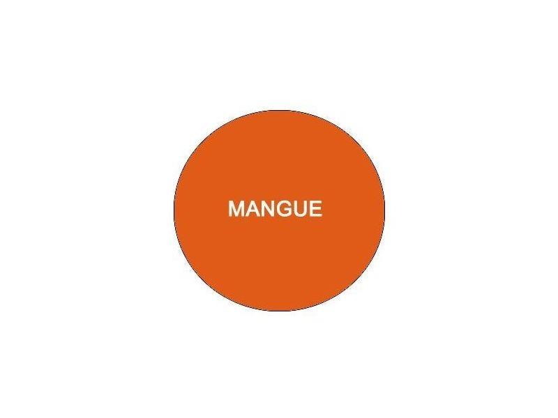 Luton drap housse 80x200 mangue