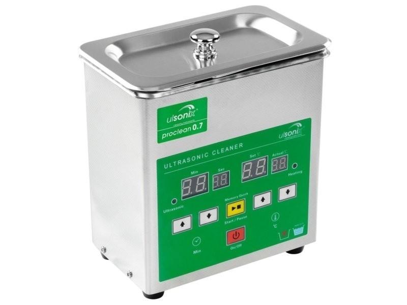 Nettoyeur à ultrasons acier inoxydable professionnel 0.7 litres helloshop26 3414166