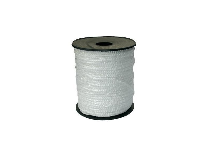 Outifrance - bobine de tresse blanche polypropylène 100 m - 1600241