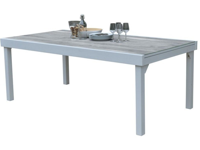 Table de jardin modulo wood 200 à 320 cm - Vente de WILSA GARDEN ...