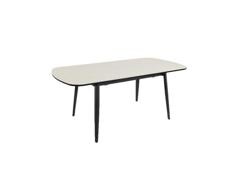 Table céramique de repas extensible 140 à 180 cm - pixi