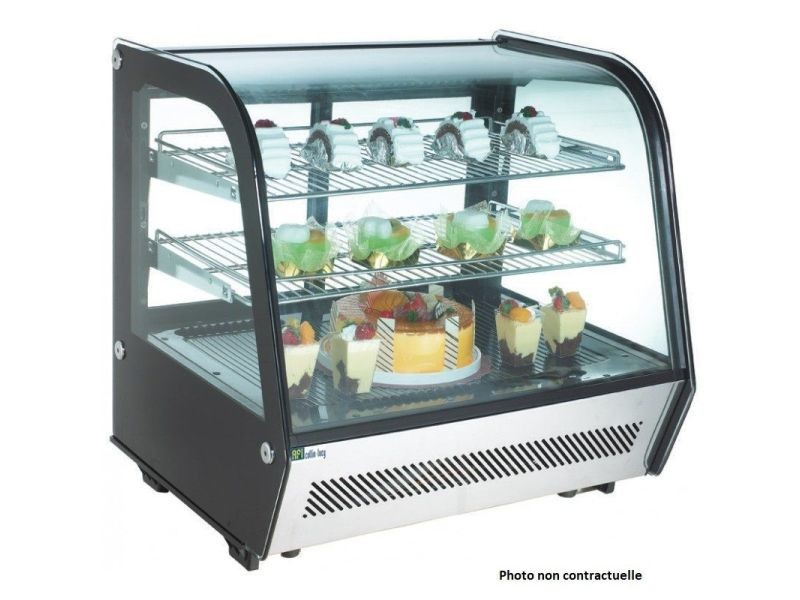 Vitrine réfrigérée à poser - 100 à 160 l - afi collin lucy - 874 mm