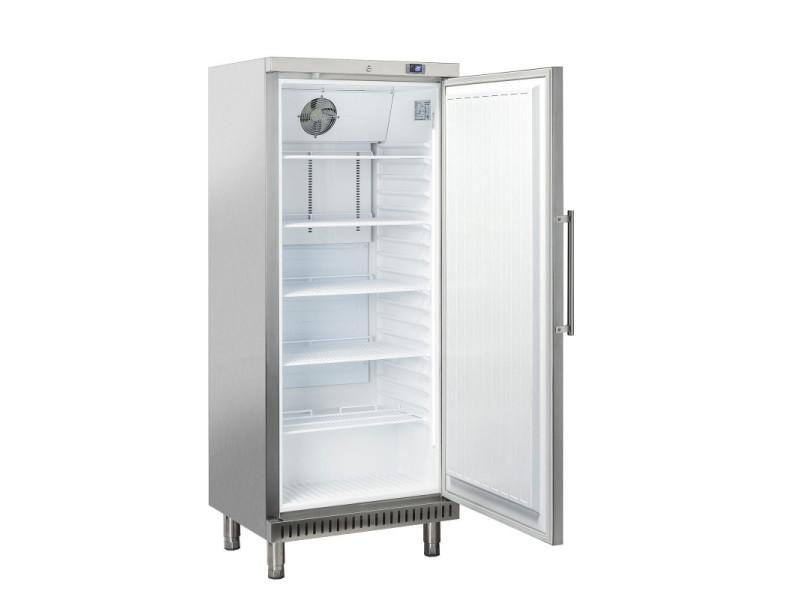 Armoire à pâtisserie réfrigérée positive acier inox - 400 litres - r600a 1 porte pleine