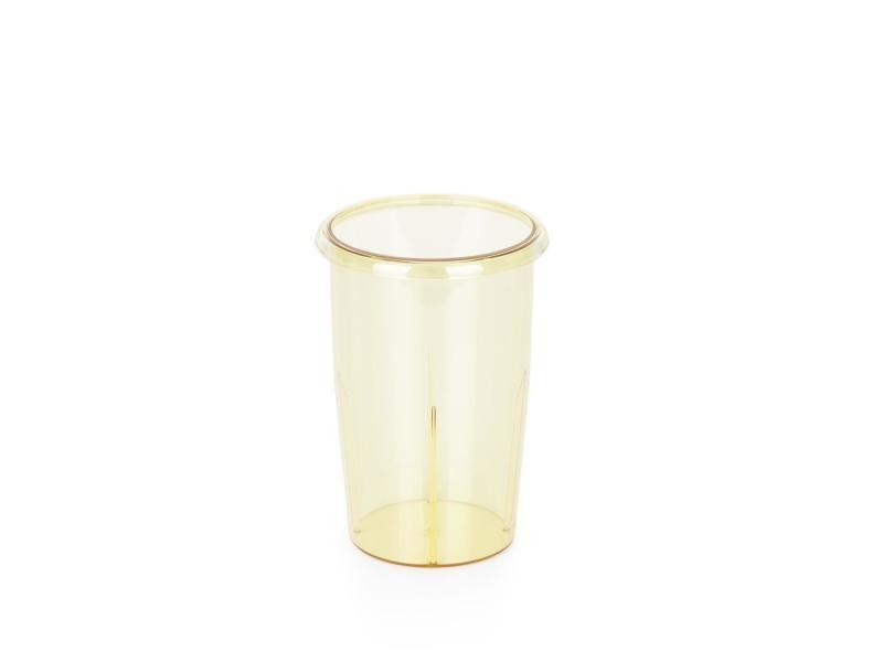 Klarstein pro kraftprotz shaker de rechange 0,9l pour mixeur blender - pvc jaune TRD1-PVC-Cup