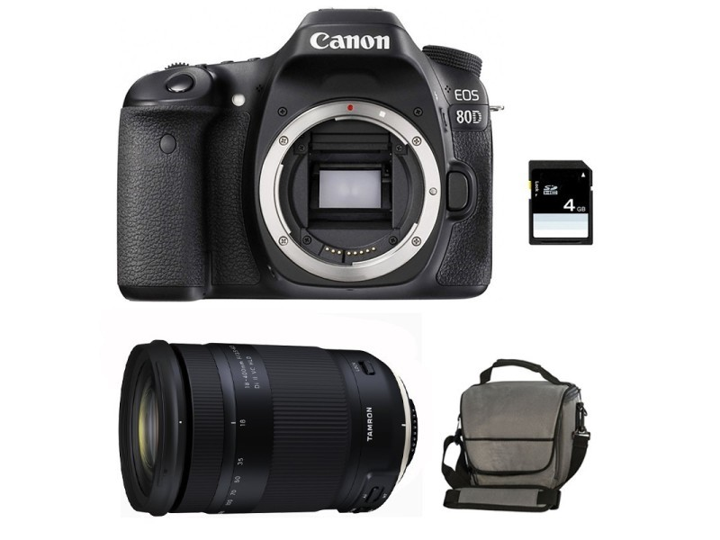 Carte Sd Telephone Conforama.Canon Eos 80d Nu Carte Sd 4go Sac