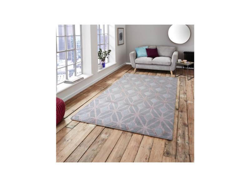 Oreva tapis de salon style scandinave - 100% polypropylene heatset ...