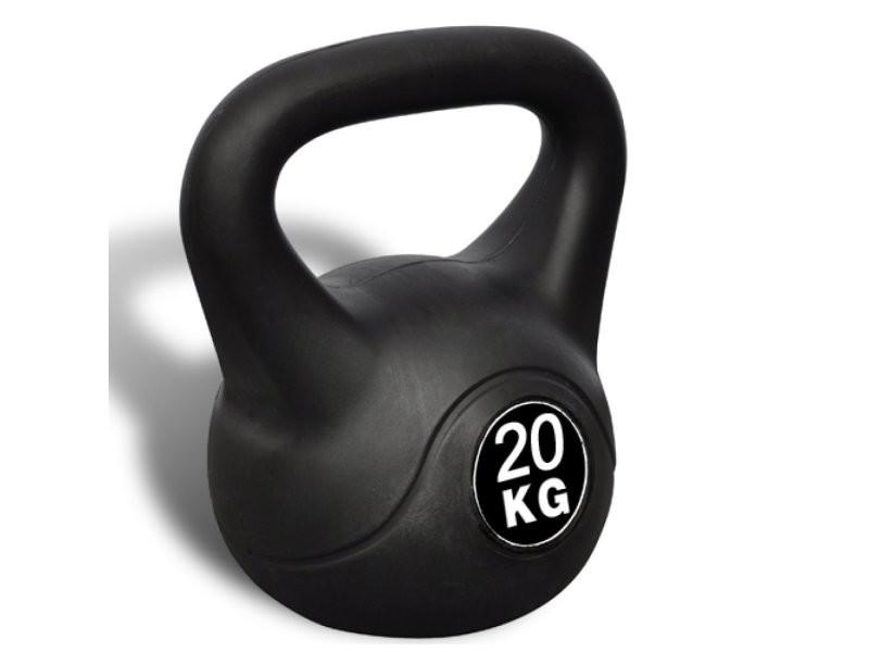 Kettlebell haltère poids musculation haltérophilie exercices gym 20 kg helloshop26 0702047