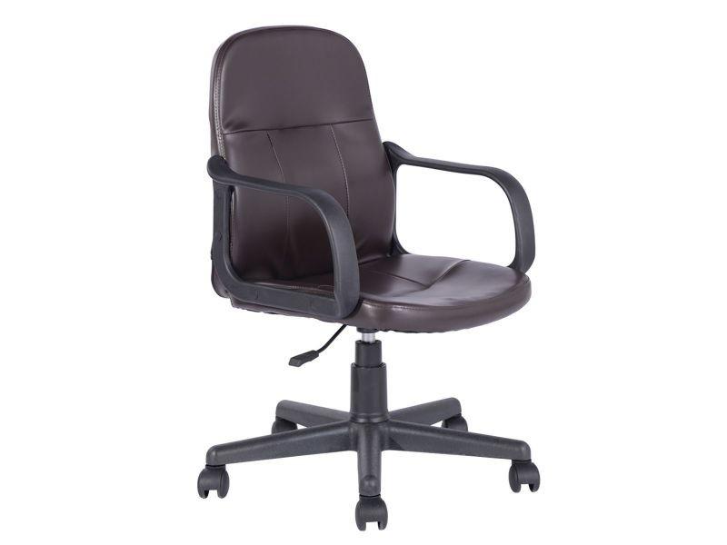 Erna fauteuil de bureau marron vente de altobuy conforama