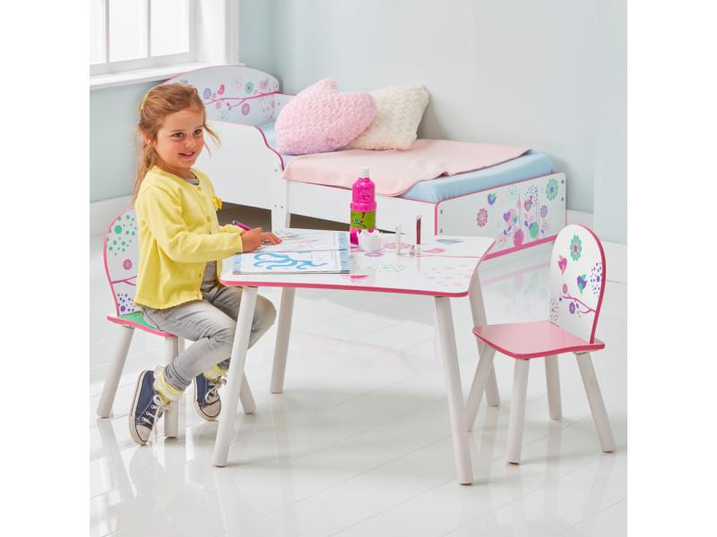 oiseau de WORLDS Ensemble 2 Vente table chaises fille et XOPZTwkiu