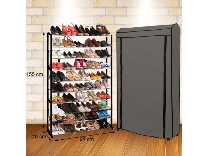 etag re range chaussures 50 paires eco vente de id. Black Bedroom Furniture Sets. Home Design Ideas
