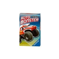 Jeu en allemand karten : auto monster