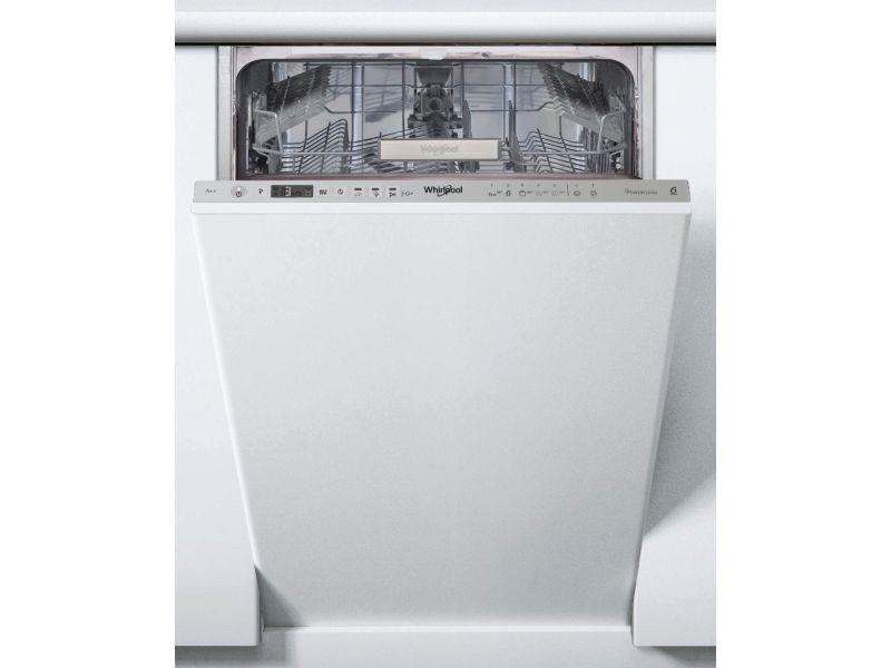 Lave-vaisselle tout integre 45cm whirlpool integrable wsio 3 t 223 pex
