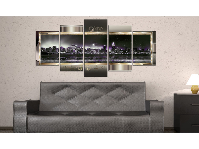 100x50 tableau new york villes admirable new york: starry night