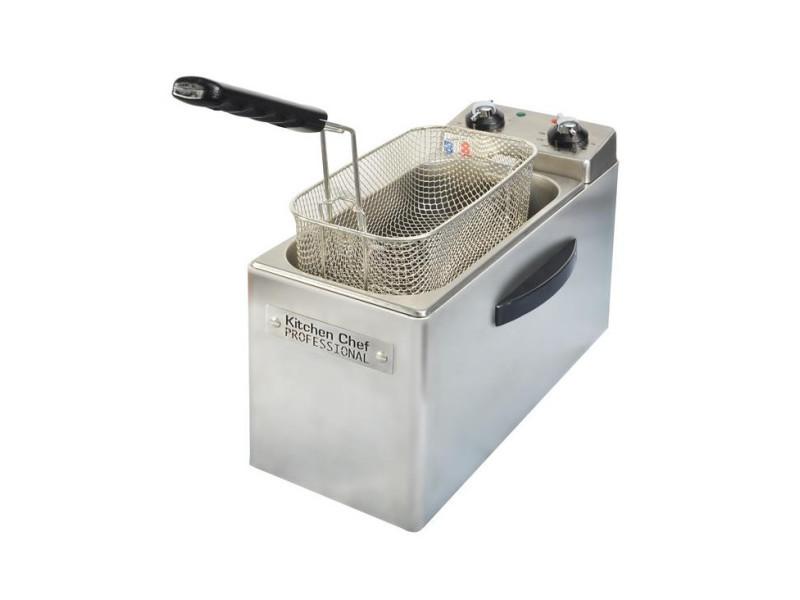 Friteuse professionnelle 4l 2500w inox - kcfr4l kcfr4l