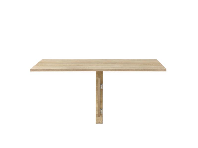 En Casa Table Murale Table Rabattable Table Pliable Effet