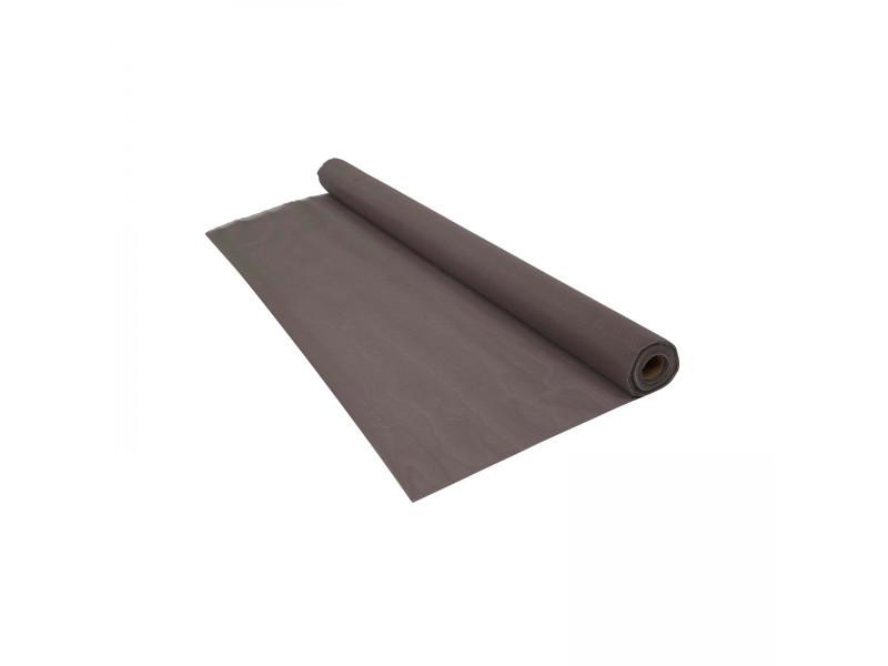 Brise vue renforcé gris 350 g/m² - 1 x 5 mètres