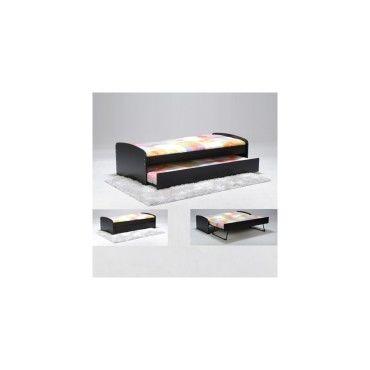 lit gigogne romain 90x190 2 sommiers 1 tiroir lit. Black Bedroom Furniture Sets. Home Design Ideas
