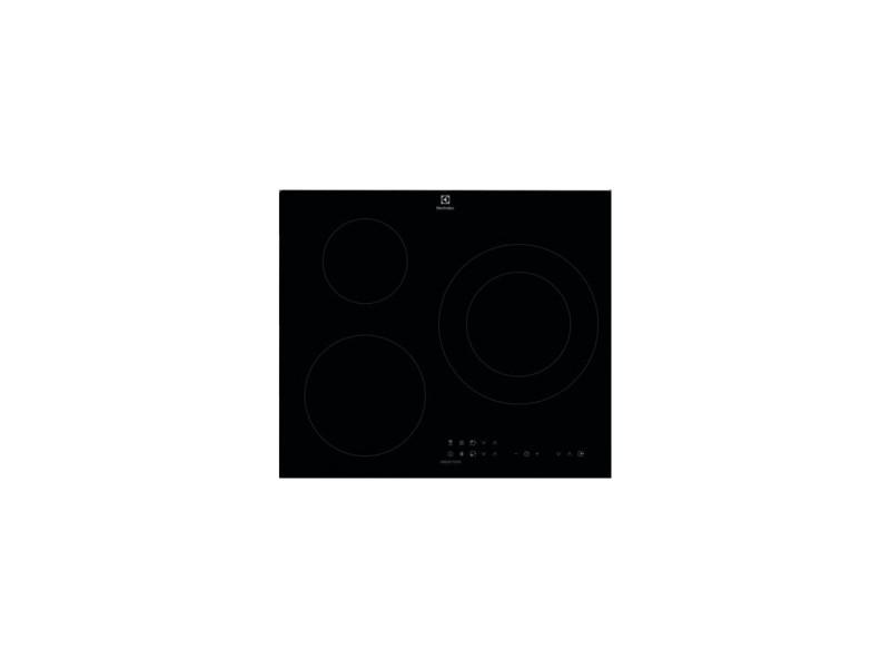 Table de cuisson induction 60cm 3 feux 7200w noir - lit60336ck 4070