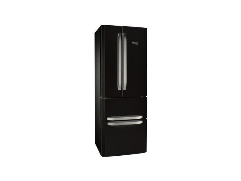 E4dbc1 - réfrigérateur multi-portes - 399l (292+107) - froid ventilé no frost - a+ - l 70cm x h 195.5cm - noir HOT8050147607978