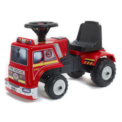 Porteur bébé tracteur fire rescue
