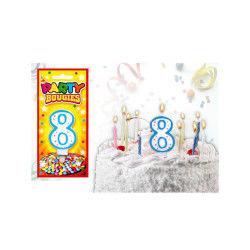 Bougies chiffres anniversaire - bougies chiffres anniversaire 8 - bougies chiffres anniversaire 8