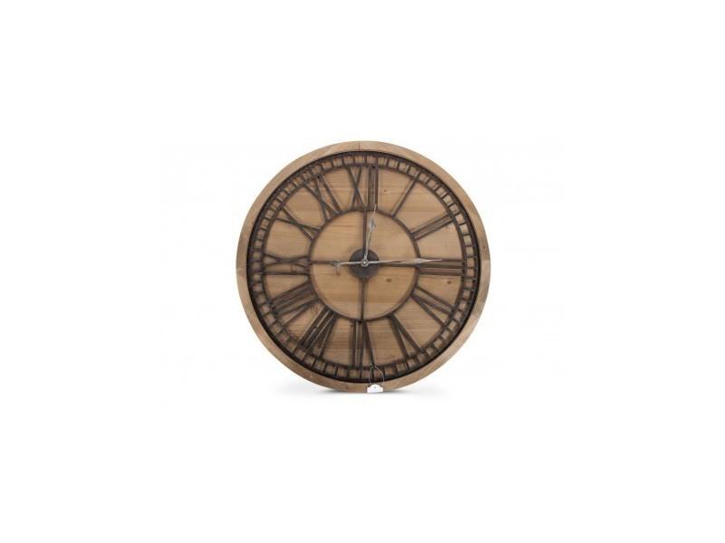 grande horloge bois