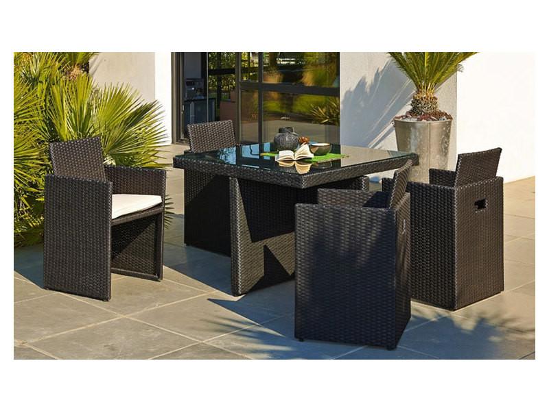 Salon de jardin encastrable 4 places - Vente de DCB GARDEN ...