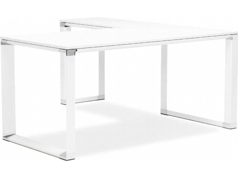 Bureau bois blanc warner ot wh vente de kokoon design