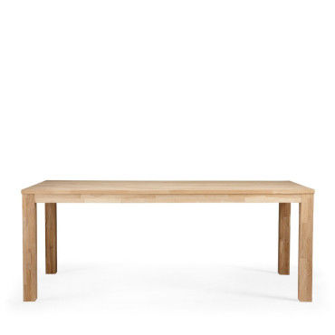 Amazing Table Manger Chne Massif Brut Dutchwood Dimensions X Cm With Dimension  Table De Cuisine.