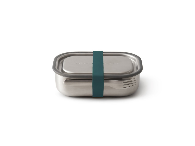Lunch box acier multifonctions bleu