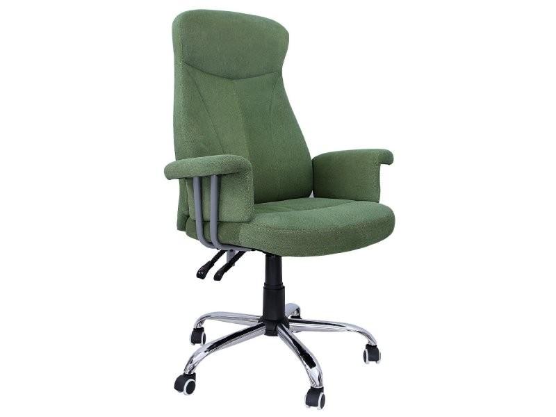 Fauteuil de bureau chaise siège vert ergonomique classique