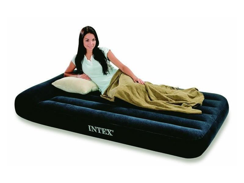 matelas lit gonflable lectrique pillow rest 1 place. Black Bedroom Furniture Sets. Home Design Ideas