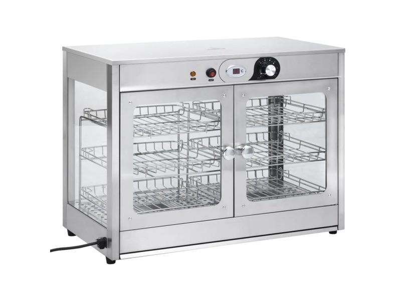 Vidaxl chauffe-plat électrique gastronorm 1200 w acier inoxydable 51082