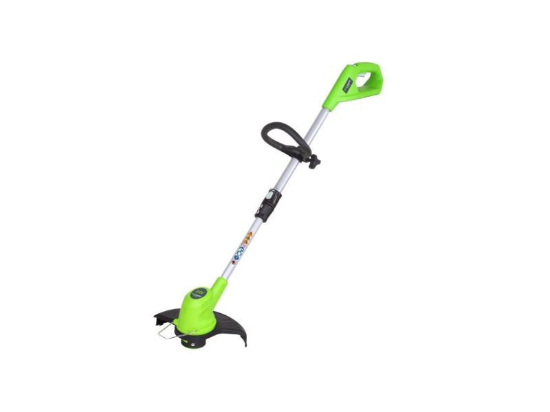 Greenworks tools coupe-bordure - 24 v - 30 cm 2101207