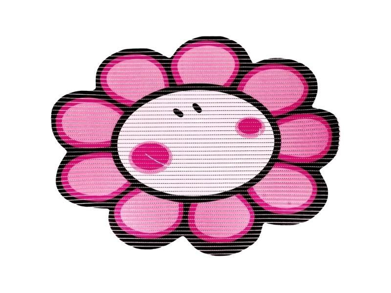 tapis de baignoire cuisine antid233rapant design fleur rose