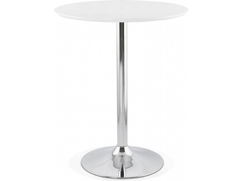 Table haute bar design ataa BT00190WH