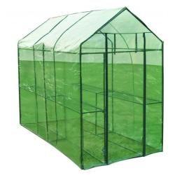 Serre de jardin 120x240x190 cm jardinage 1602008