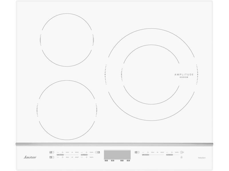 Plaque induction sauter 7200w 61cm, spi 4360 w