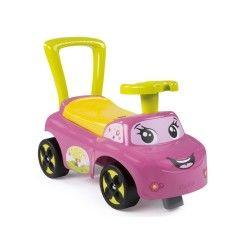 Porteur bébé smoby auto rose