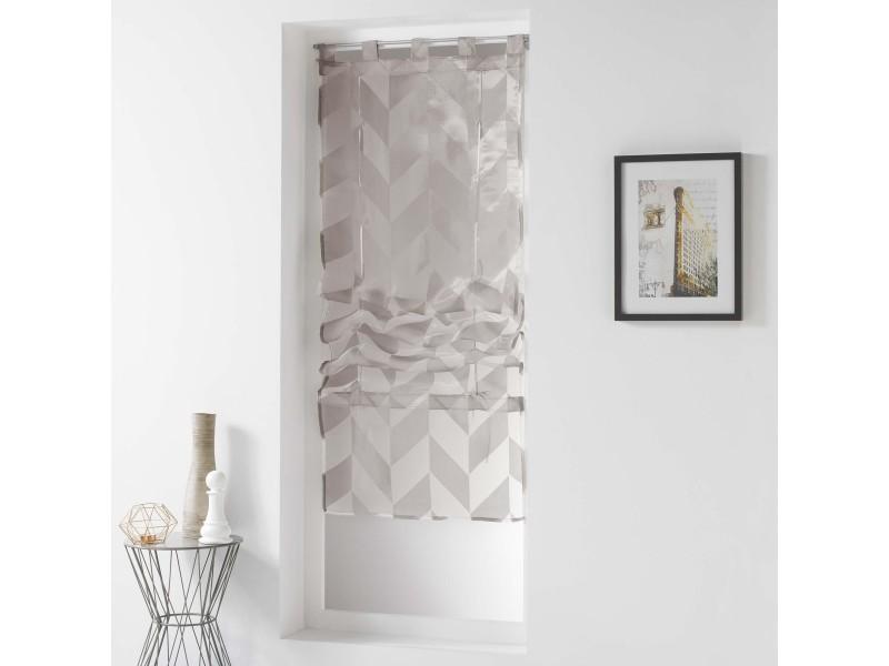 Store droit impressions géométriques 90 x 180 cm - Vente de Rideau ...