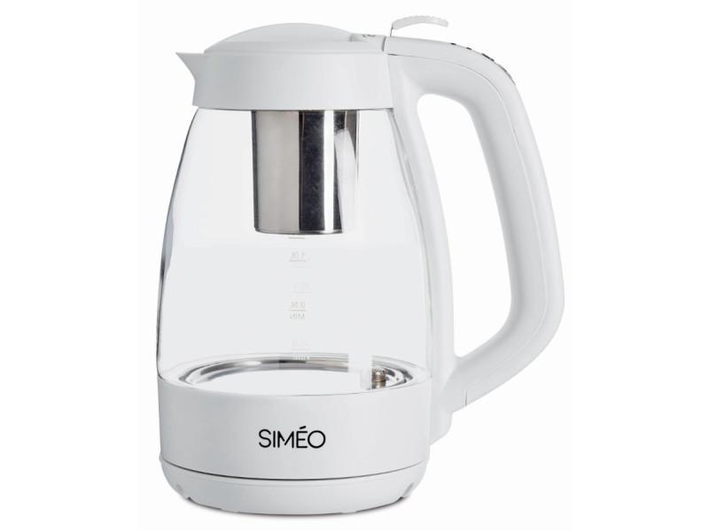 Simeo - théière à préparation automatique 1.2 litre tvv410