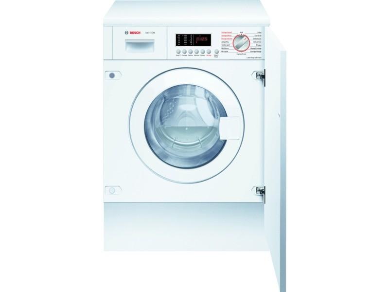 Lave-linge séchant intégrable 60cm 7/4kg b blanc - wkd28542ff wkd28542ff
