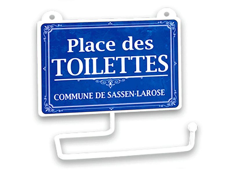 Dérouleur à papier toilette humoristique