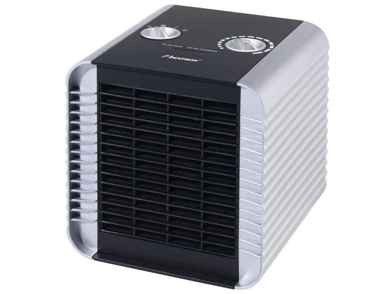 Radiateur chauffage soufflant en céramique 1 500 watts noir pratique design moderne et élégant helloshop26 3902048