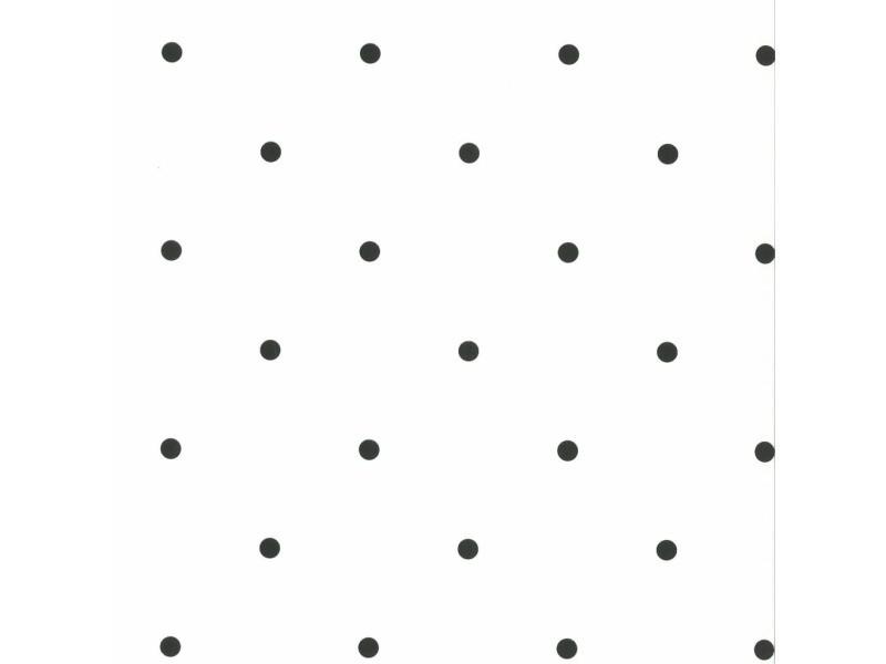 Fabulous world papier peint dots blanc et noir 67105-3 422685
